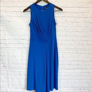 Just Taylor Blue Cinched Dress